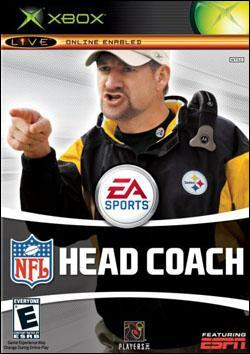 NFL Head Coach (Xbox) by Electronic Arts Box Art