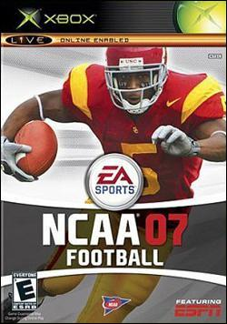 NCAA Football 07 (Xbox) by Electronic Arts Box Art