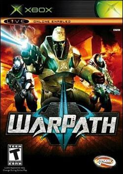 Warpath (Xbox) by Groove Games Box Art