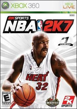 NBA 2K7 (Xbox 360) by 2K Games Box Art
