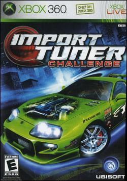 Import Tuner Challenge (Xbox 360) by Ubi Soft Entertainment Box Art