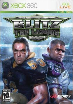 Blitz: The League (Xbox 360) by Midway Home Entertainment Box Art