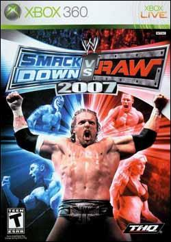 WWE Smackdown vs Raw 2007 (Xbox 360) by THQ Box Art