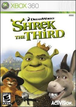 Shrek the Third (Xbox 360) by Activision Box Art