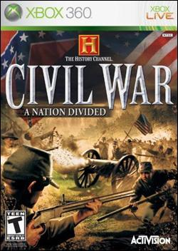 History Channel: Civil War (Xbox 360) by Activision Box Art