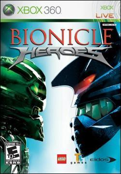 Bionicle Heroes (Xbox 360) by Eidos Box Art