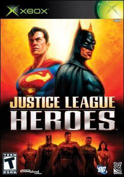 Justice League: Heroes (Xbox) by Warner Bros. Interactive Box Art