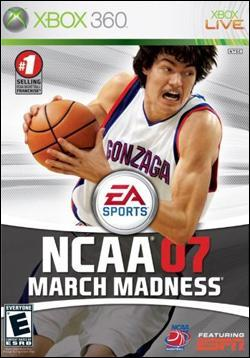 NCAA March Madness 07 (Xbox 360) by Electronic Arts Box Art