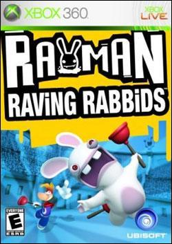 Rayman Raving Rabbids (Xbox 360) by Ubi Soft Entertainment Box Art