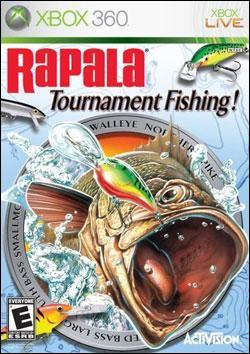 Rapala Tournament Fishing (Xbox 360) by Activision Box Art