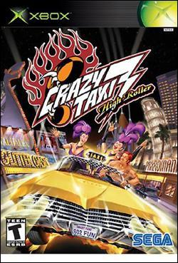 Crazy Taxi 3: High Roller (Xbox) by Sega Box Art