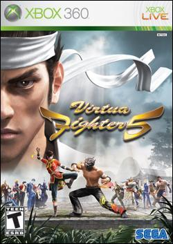 Virtua Fighter 5 (Xbox 360) by Sega Box Art