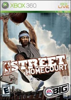 NBA Street Homecourt (Xbox 360) by Electronic Arts Box Art
