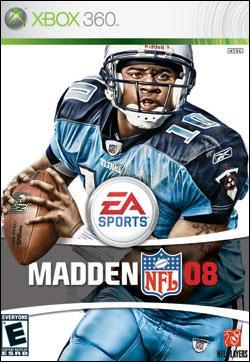 Madden NFL 08 (Xbox 360) by Electronic Arts Box Art