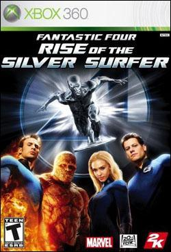 Fantastic Four: Rise of the Silver Surfer (Xbox 360) by 2K Games Box Art