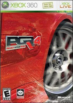 Project Gotham Racing 4 (Xbox 360) by Microsoft Box Art