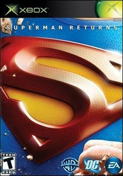 Superman Returns (Xbox) by Electronic Arts Box Art
