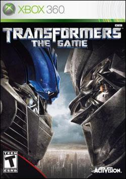 Transformers: The Game (Xbox 360) by Activision Box Art