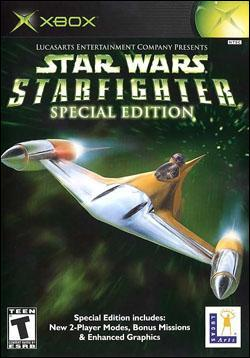 Star Wars: Starfighter - Special Edition (Xbox) by LucasArts Box Art