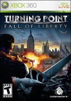 Turning Point: Fall of Liberty (Xbox 360) by Codemasters Box Art