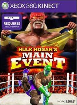 Hulk Hogan's Main Event (Xbox 360) by Microsoft Box Art