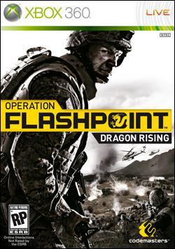 Operation Flashpoint: Dragon Rising (Xbox 360) by Codemasters Box Art