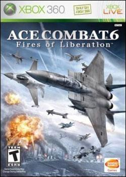 Ace Combat 6: Fires of Liberation (Xbox 360) by Namco Bandai Box Art