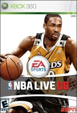 NBA Live 08 (Xbox 360) by Electronic Arts Box Art
