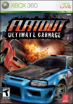 FlatOut: Ultimate Carnage (Xbox 360) by Warner Bros. Interactive Box Art