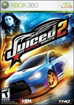 Juiced 2: Hot Import Nights (Xbox 360) by THQ Box Art