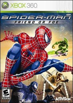 Spiderman: Friend or Foe (Xbox 360) by Activision Box Art