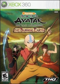 Avatar: The Burning Earth (Xbox 360) by THQ Box Art