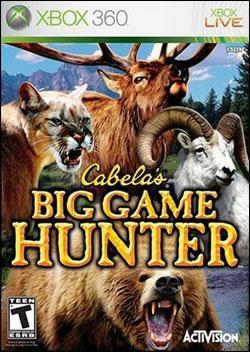 Cabela's Big Game Hunter (Xbox 360) by Activision Box Art