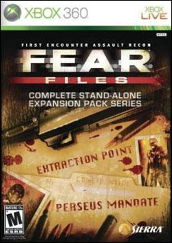 FEAR Files (Xbox 360) by Vivendi Universal Games Box Art