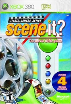 Scene It? Lights, Camera, Action (Xbox 360) by Microsoft Box Art