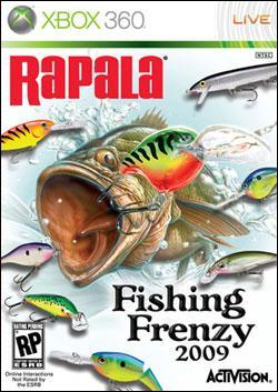 Rapala Fishing Frenzy (Xbox 360) by Activision Box Art