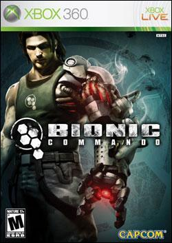 Bionic Commando (Xbox 360) by Capcom Box Art