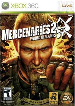 Mercenaries 2: World in Flames (Xbox 360) by Electronic Arts Box Art