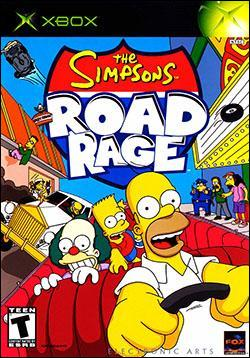 The Simpsons Road Rage (Xbox) by Electronic Arts Box Art
