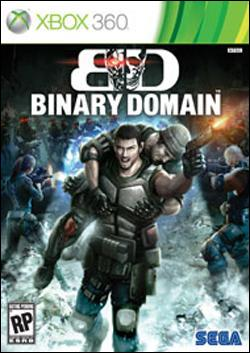 Binary Domain (Xbox 360) by Sega Box Art
