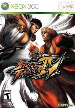 Street Fighter IV (Xbox 360) by Capcom Box Art