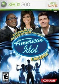 Karaoke Revolution: American Idol Encore (Xbox 360) by Konami Box Art