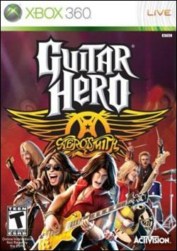 Guitar Hero: Aerosmith (Xbox 360) by Activision Box Art