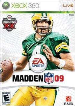 Madden NFL 09 (Xbox 360) by Electronic Arts Box Art