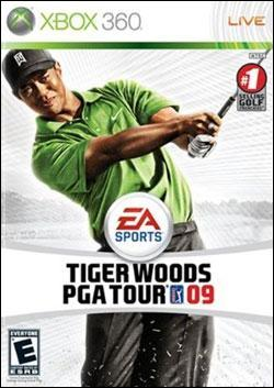 Tiger Woods PGA Tour 09 (Xbox 360) by Electronic Arts Box Art