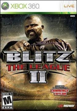 Blitz: The League 2 (Xbox 360) by Midway Home Entertainment Box Art