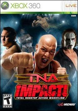 TNA iMPACT! (Xbox 360) by Midway Home Entertainment Box Art