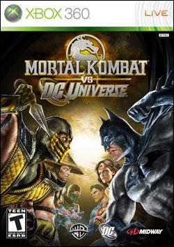 Mortal Kombat vs. DC Universe (Xbox 360) by Midway Home Entertainment Box Art