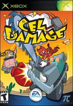 Cel Damage (Xbox) by Electronic Arts Box Art