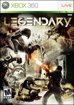 Legendary (Xbox 360) by Gamecock Media Box Art